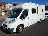 Autocruise STARBLAZER, 2007, 4 Berth Fixed Bed, Safari, Large Rear Garage, 3.0D!