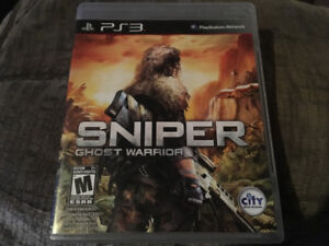 Jeu PS3 à vendre pas d'égratignures - Sniper (ghost warrior)