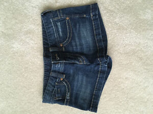 Size 28 Guess jean shorts