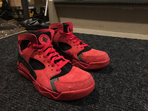 Nike Red High-Top Huaraches