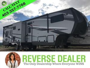2014 Elevation 3612 Luxurious 3 slide toy hauler & Much more!