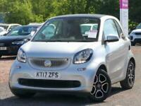 2017 smart fortwo Smart Fortwo Coupe 1.0 Prime 2dr Coupe Petrol Manual