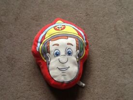 Fireman Sam cushion