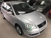2008 Volkswagen Polo 1.4 ( 80P ) automatic MY S. Long mot.9 service stamps