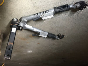 Attaché auto blue ox et frein invisit frein electrique