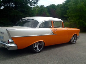 57 Chevy 2 dr business mans coupe,$35,000