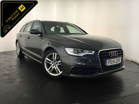 2014 AUDI A6 S LINE AUTO ESTATE DIESEL 1 OWNER SERVICE HISTORY FINANCE PX