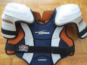 Youth hockey Shoulder pad and Pittsburgs Youth Jersey