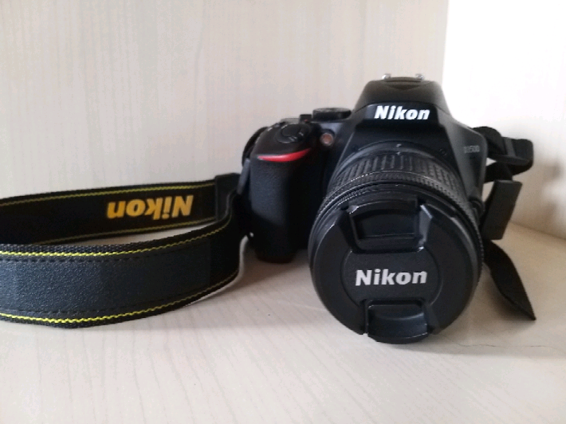 Nikon D3500 DSLR Camera Body with 18-55mm Lens | in Ipswich, Suffolk |  Gumtree