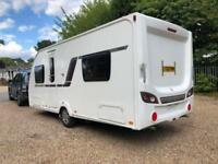 2013 Swift Expression 514 4 Berth caravan Fixed Bed MOTOR MOVER Bargain !