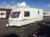 2002 2 BERTH LUNAR DELTA WITH END BATHROOM FULL AWNING MORE IN STOCK AND WE CAN DELIVER PLZ VIEW