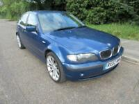 2002 BMW 3 SERIES 320 2.2 I SE AUTOMATIC PETROL 4 DOOR SALOON