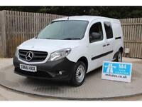 Mercedes Citan 109 Cdi Blueefficiency Dualiner Van With Side Windows 1.5 Manual