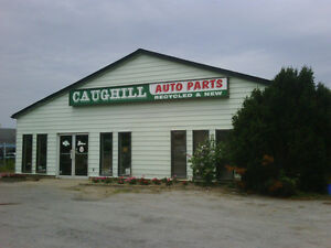 CAUGHILL AUTOMOTIVE PARTS - USED AND NEW