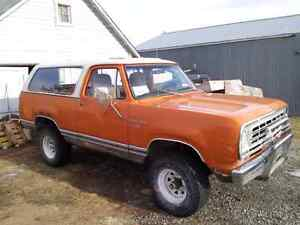 WANTED 1973-1979 Dodge RAMCHARGERS