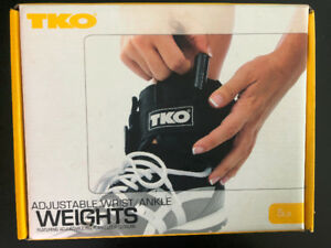 TKO Adjustable wrist/ankle weights