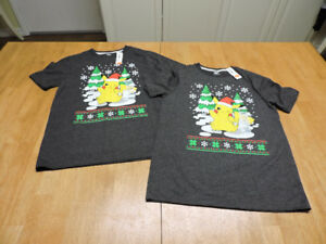 BRAND NEW Pokemon Xmas Tops