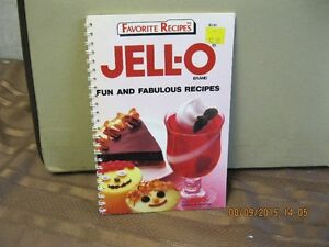 FAVORITE RECIPES   JELLO-O   FUN AND  FABULOUS RECIPES Oakville / Halton Region Toronto (GTA) image 1