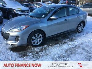 2012 Mazda Mazda3 GX RENT TO OWN OR FINANCE IN HOUSE