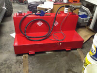 Free Fuel!!! 421 litre slip tank /GPI pump and filter setup