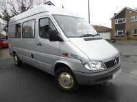 Mercedes 2 berth campervan conversion for sale Ref:13075 SALE AGREED