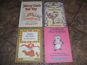 4 Early I CAN READ BOOKS-vintage Hard Cover