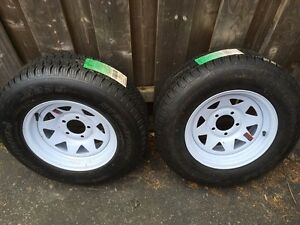 Supercargo ST205/75D14 Trailer Tires