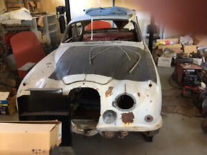 MK2 Jaguar 1961 Matching Number Project Car