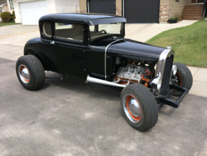 1930 Model A Coupe with 1948 flathead