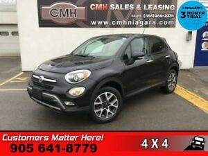 2016 Fiat 500X Trekking  AWD U-CONNECT BT  ALLOYS REMOTE