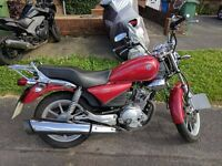 Yamaha YBR Custom 125 Red 2015