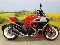 Ducati Diavel 2011 **GPR CARBON SHOT GUN EXHAUSTS, SEAT COWL, TAILORED SEAT**
