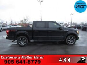 2016 Ford F-150 XLT  4X4 SUPER CREW FX4 PACKAGE ECOBOOST POWER G