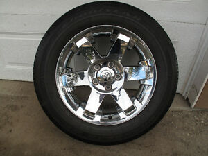 "P275 60 R20 HP Wranglers on 20"" Dodge Ram Laramie Rims"