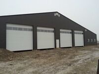 Custom commercial and agriculture shops