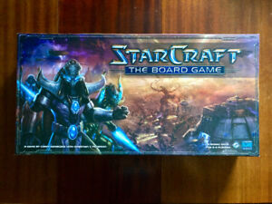 StarCraft The Board Game 2007 Very Rare Out of Print