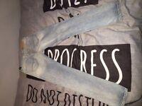 Abercrombie boys skinny jeans