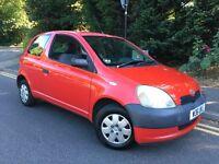 2000/W REG TOYOTA YARIS 1.0 S VVTI 16v ** CHEAP FIRST CAR ** £595