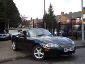 Mazda MX-5 1.8i CONVERTIBLE + 2003 GENUINE VOSA WARRANTED 72,890 MILES FROM NEW