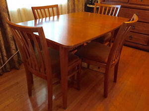 2 Piece Dining Room Suite - Table, Chairs & Cabinet