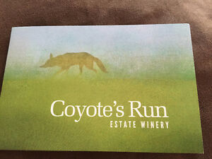 Wine Tour and Tasting for 10 people at Coyote's Run