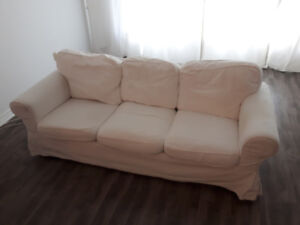 COUCH EKTORP WHITE 1 OF 2