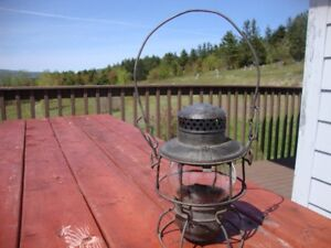 Antique CNR Railway Lamp
