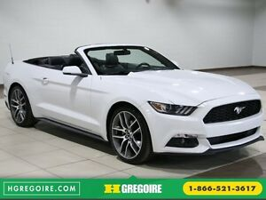 2016 Ford Mustang EcoBoost Premium AUTO A/C CUIR MAGS BLUETOOTH