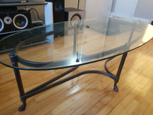 Antiqued Coffee Table Set