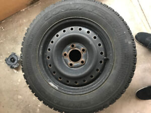 P205 / 65 R15 inlcuding rims