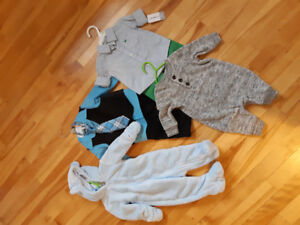 0-9month boy clothing shoes . Never worn . Excellent condition
