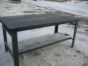 Steel Workbench with bottom Shelf