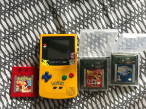 Pokemon edition gameboy colour and games