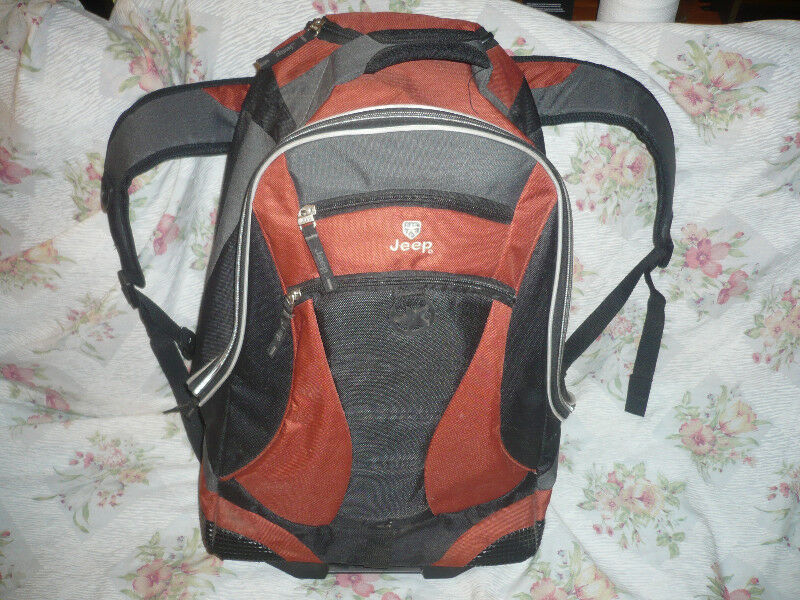 e08f9d0c1dd Selling discontinued Jeep rolling/backpack almost new | Fishing, Camping &  Outdoors | Cambridge | Kijiji